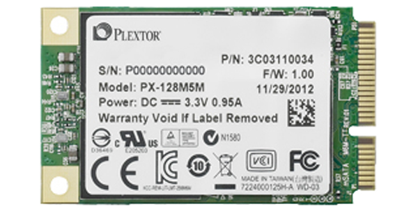 PLEXTOR PX-128M5M SSD DRIVERS FOR MAC