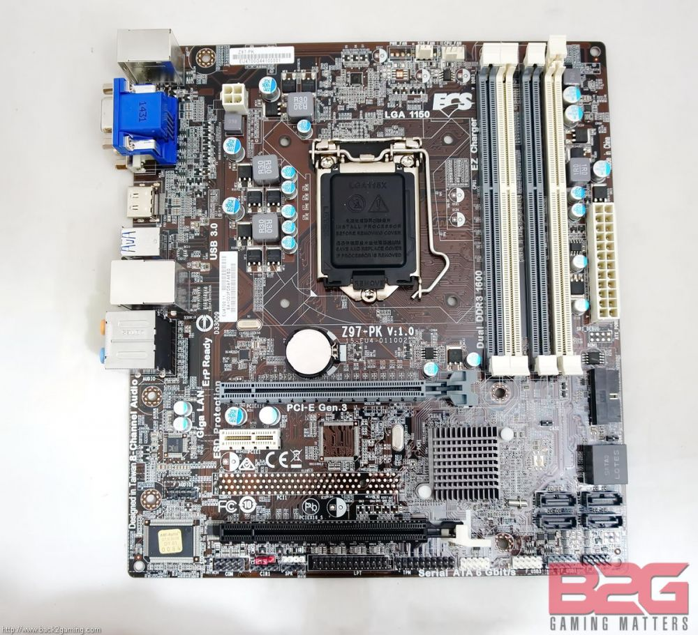 ECS Z97-PK Motherboard Review - Page 3 of 9 - Back2Gaming