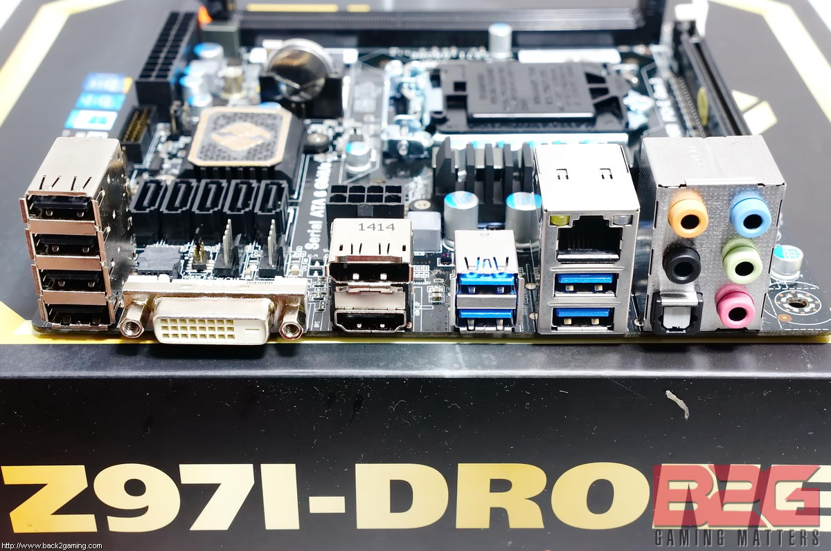 ECS L337 Z97I-DRONE ITX Motherboard Review - Page 2 of 8