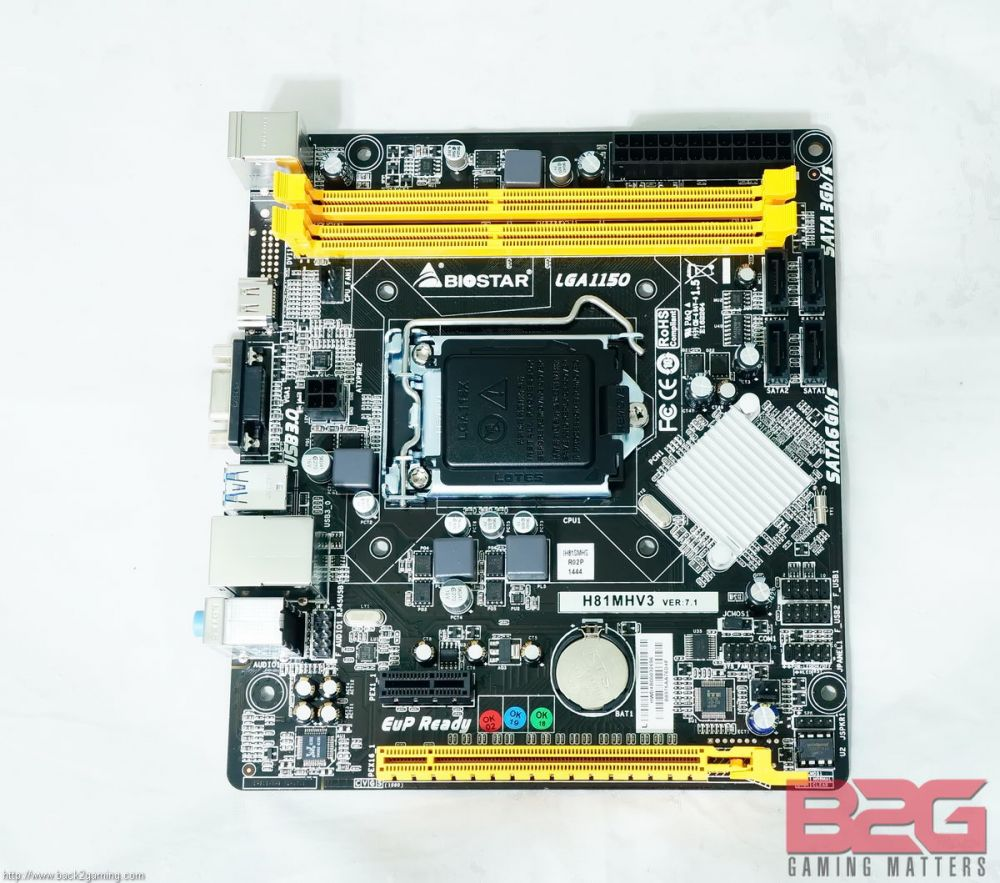 BIOSTAR H81MHV3 Motherboard Review - Back2Gaming