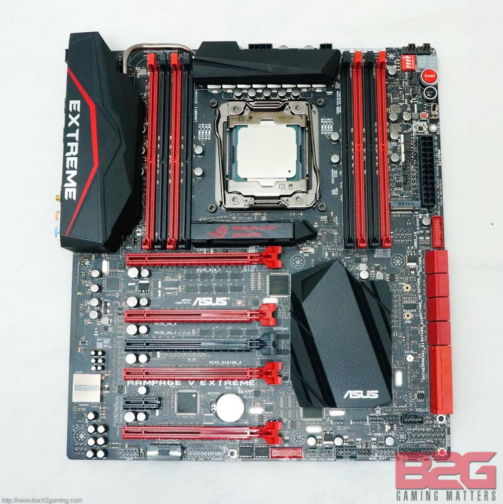 ASUS RAMPAGE V EXTREME Motherboard Review - Back2Gaming