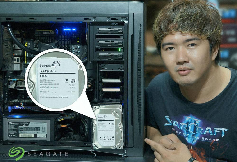 Seagate Desktop SSHD