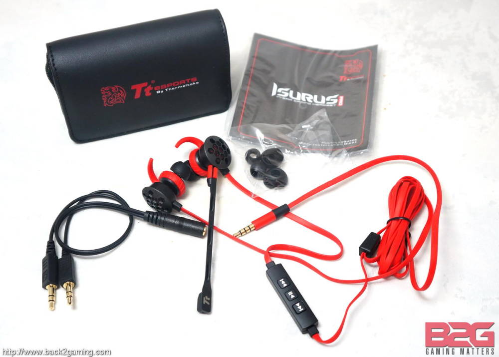 Tt eSports Isurus Pro In-Ear Gaming Headset Review