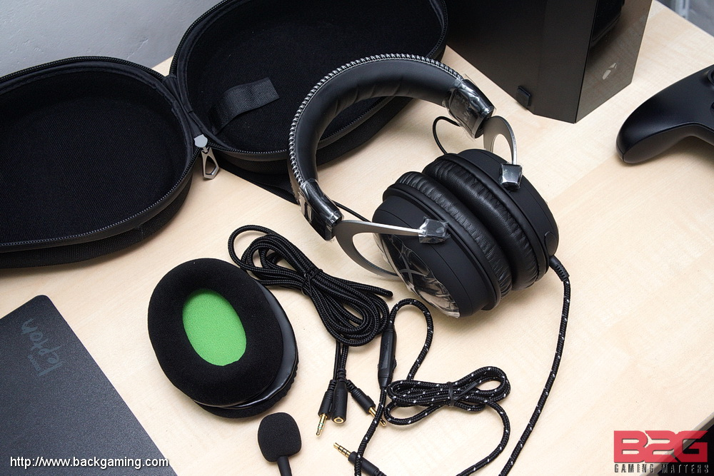 kingston hyperx cloudx gaming headset for xbox one review back2gaming. Black Bedroom Furniture Sets. Home Design Ideas