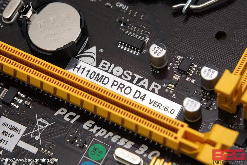 Biostar H110MD PRO Motherboard Driver
