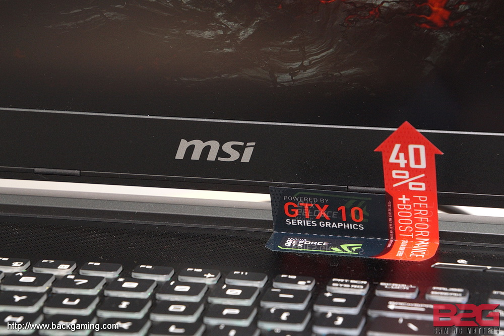 MSI GT62VR Dominator Pro (NVIDIA GTX 1070) Gaming Notebook