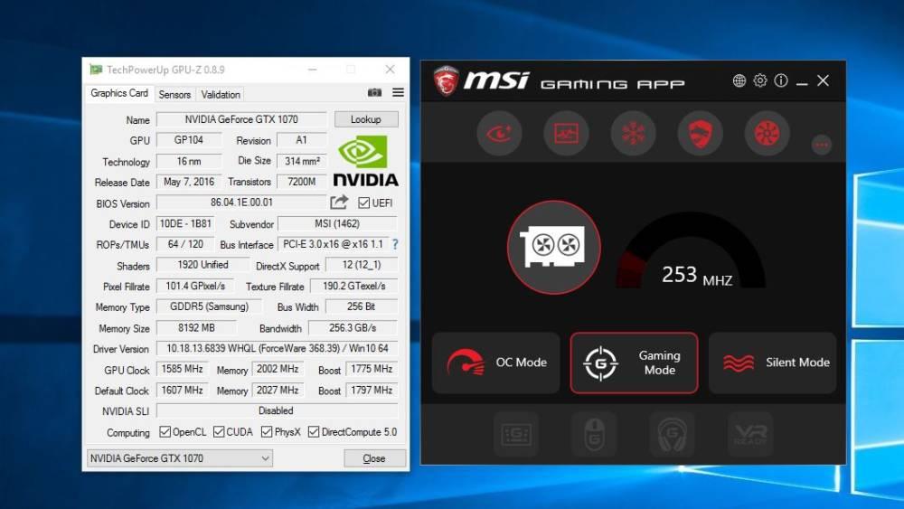 MSI GT62VR Dominator Pro (NVIDIA GTX 1070) Gaming Notebook