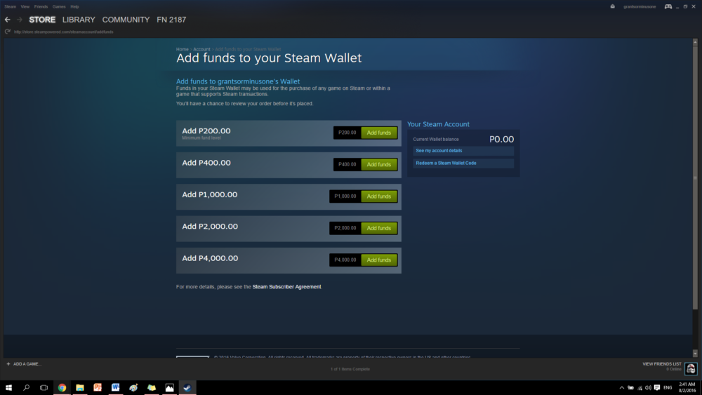 How to Purchase Games with Steam Wallet :: Help and Tips