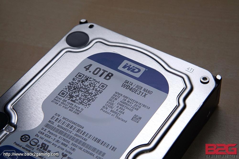 WD BLUE (WD40E31X) 4TB SSHD Review