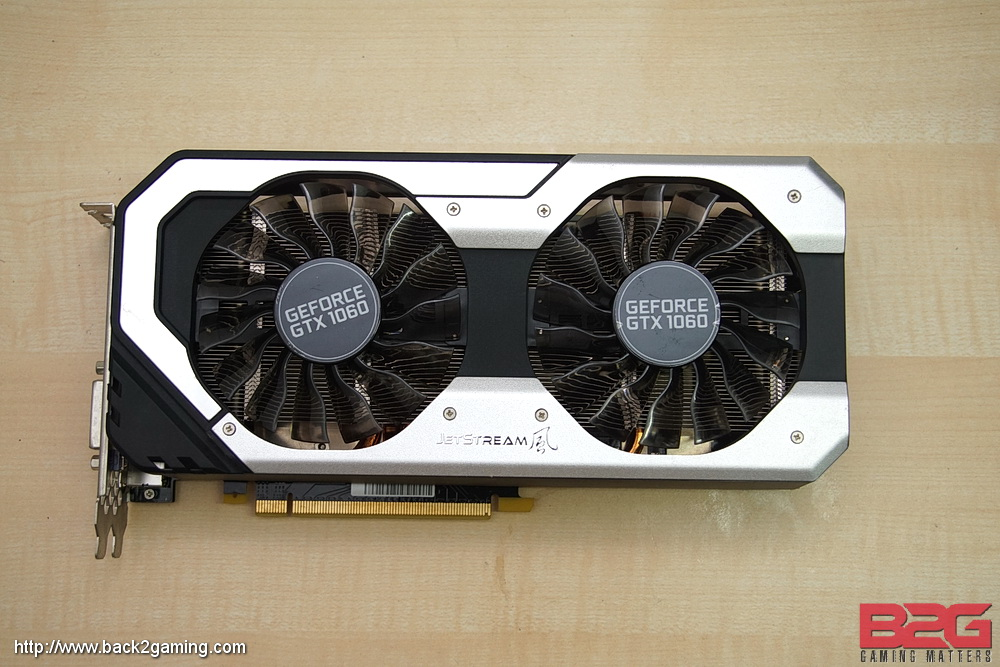 PALIT GTX 1060 Super Jetstream 6GB Graphics Card Review