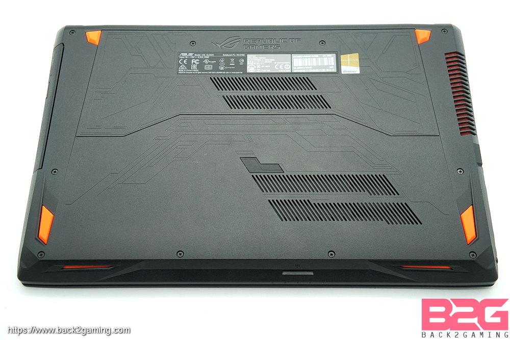 ASUS ROG STRIX GL553 (GTX 1050) Gaming Laptop Review - Back2Gaming