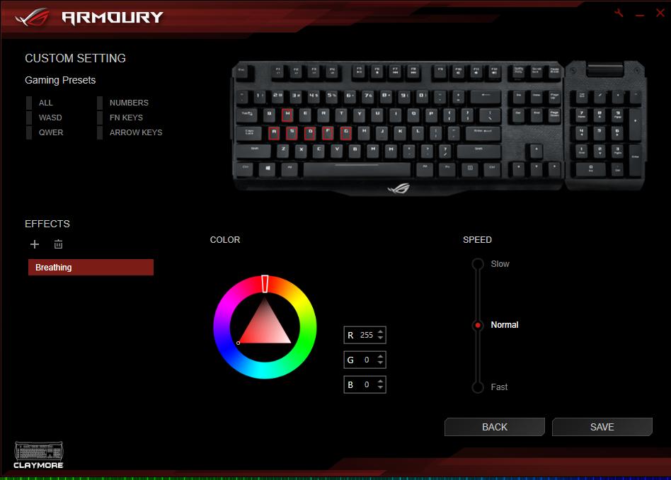 ASUS ROG Claymore Mechanical Keyboard Review - Back2Gaming