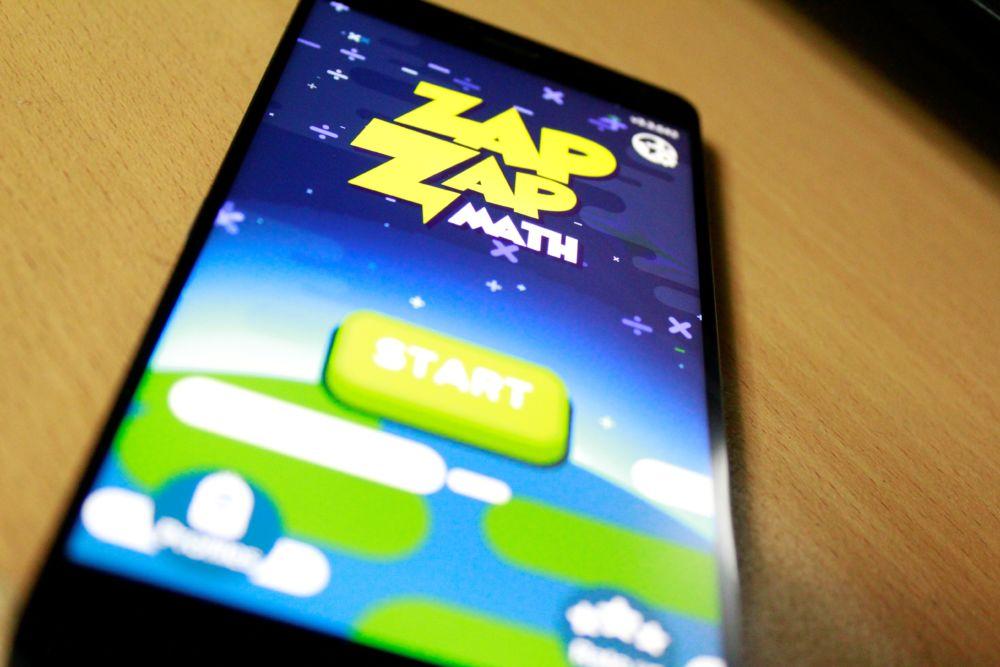 Review Zap Zap Math