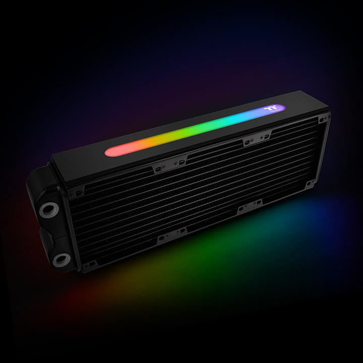 Thermaltake Unveils RGB Upgraded Pacific Radiator and Pump