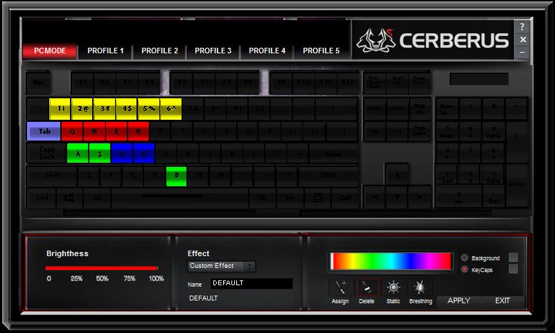 ASUS Cerberus RGB Mechanical Keyboard Review - Back2Gaming