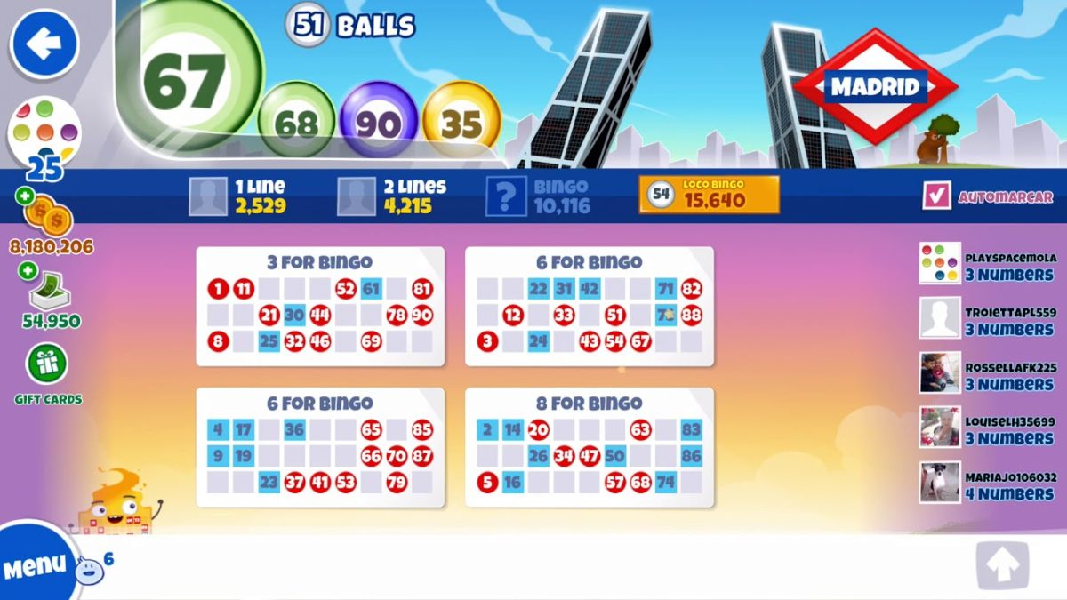 Loco Bingo: Play Free Bingo From Your Smartphone - Back2Gaming
