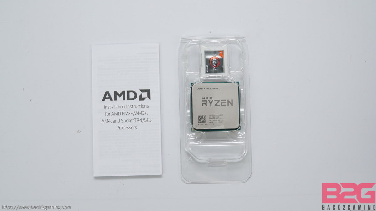 AMD Ryzen 7 2700X 8-Core Processor Review - Back2Gaming