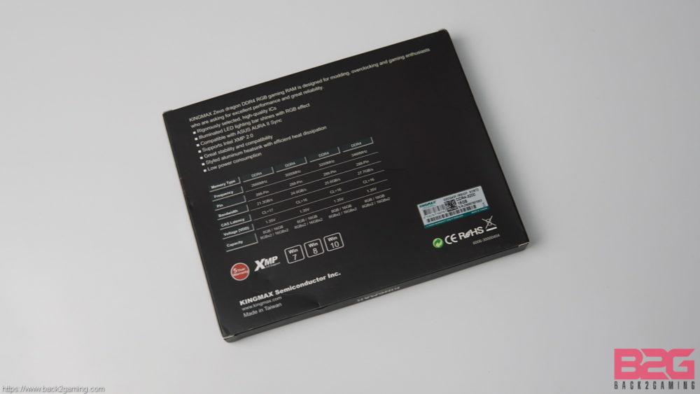 KINGMAX ZEUS DRAGON RGB DDR4-3200 Dual-Channel Memory Kit Review