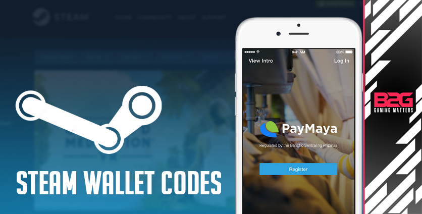 You Can Now Buy Steam Wallet Codes Directly Through PayMaya