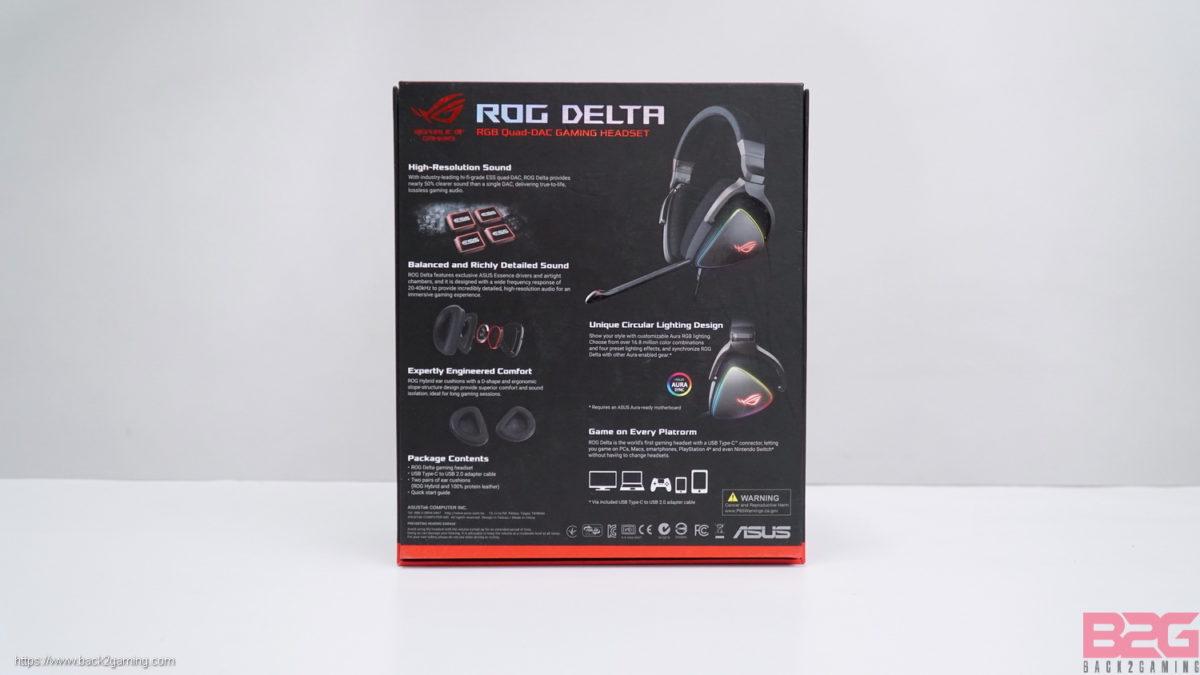 ROG Delta RGB Gaming Headset Review - Back2Gaming