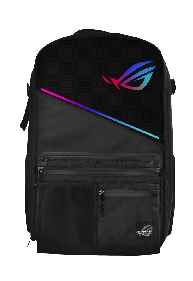 The ROG Ranger Backpack Gets Updated with RGB Aura Lighting