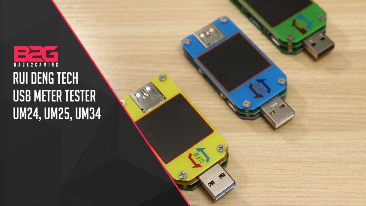 Rui Deng Tech USB METER UM24 UM25 UM34