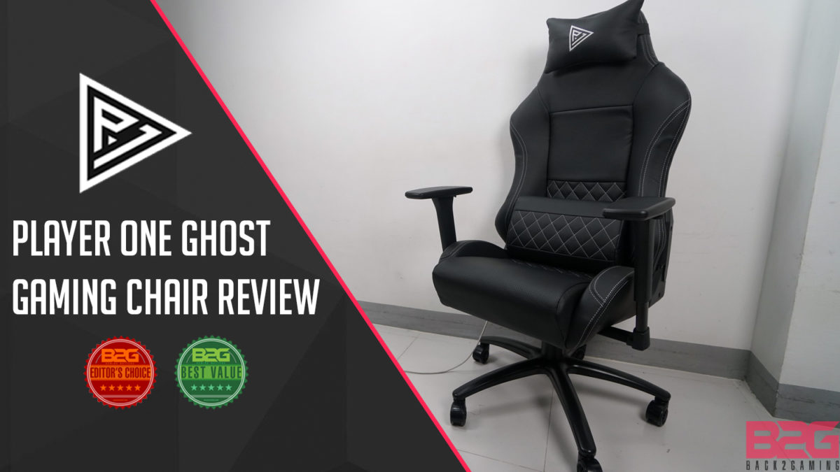 Marvelous Player One Ghost Gaming Chair Review Back2Gaming Pdpeps Interior Chair Design Pdpepsorg