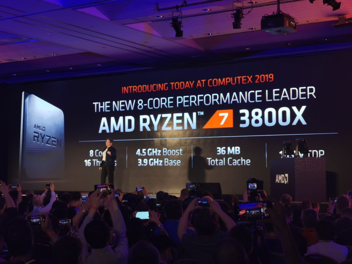 AMD Releases Ryzen 3900X, 3800X and 3700X Processors at