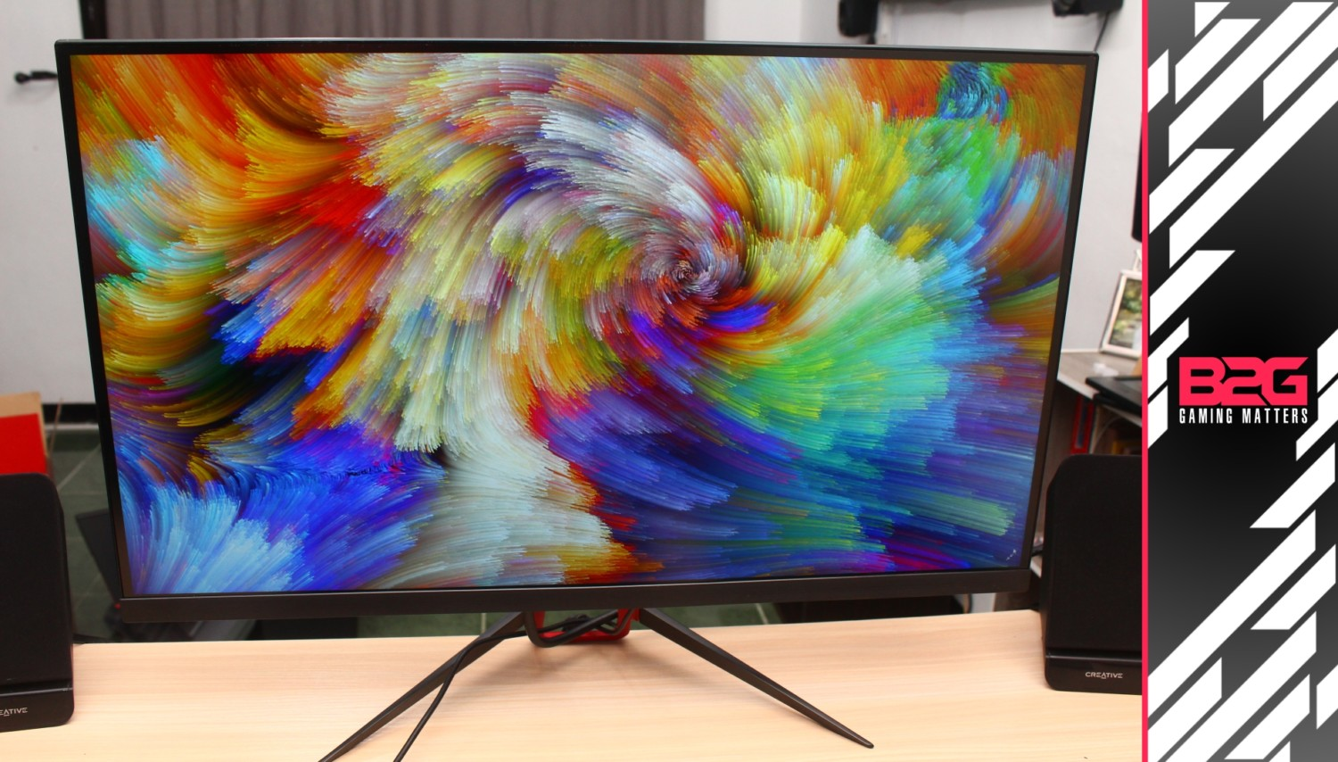 Review - BEZEL 27MD845 FreeSync Gaming Monitor (27 Inch 144Hz 1440p
