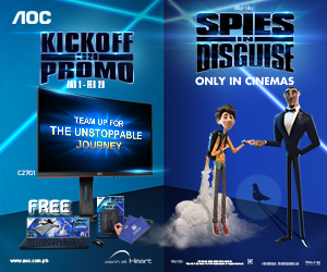 AOC Spies in Disguise Box